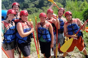 Preparing for a Rafting Trip in the province of Chiriqui
